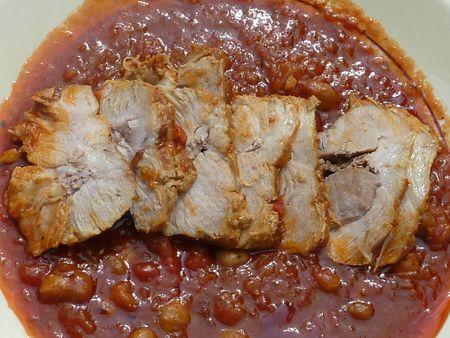 R ti de porc facile en cocotte minute paperblog - Cuisiner rouelle de porc en cocotte minute ...