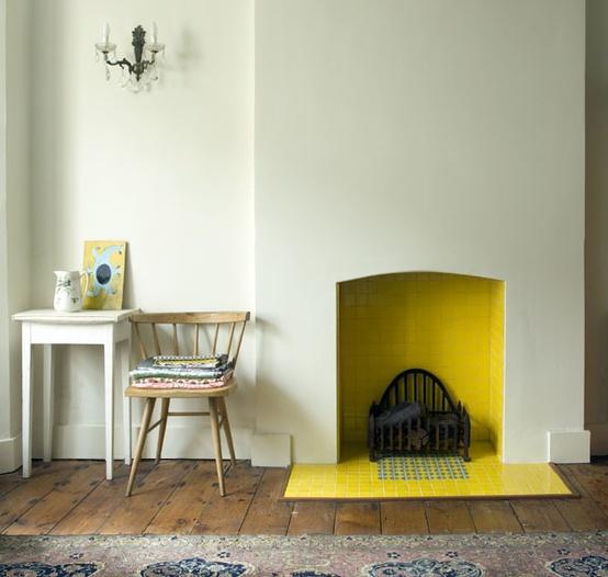 peindre l 39 int rieur de sa chemin e paperblog. Black Bedroom Furniture Sets. Home Design Ideas