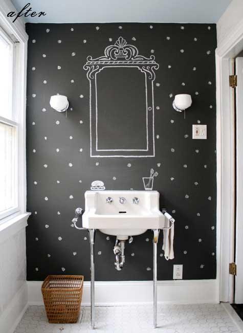 Peinture tableau noir voir - Peinture noire tableau craie ...