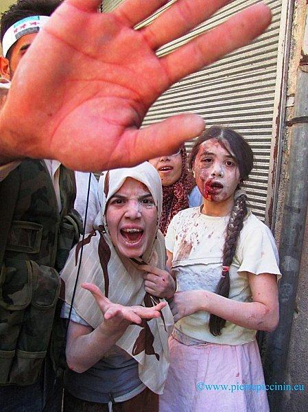 Syrie - la révolution syrienne s'organise, mais se débat, seule