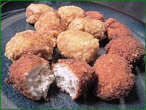 Nuggets ou croquettes de poulet paperblog - Que faire avec des reste de poulet ...