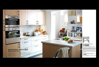 enfin la fin du st r otype de la femme dans la cuisine merci ikea paperblog. Black Bedroom Furniture Sets. Home Design Ideas