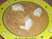 Soupe poisson rouille croutons