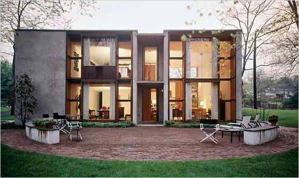 La maison du jeudi esherick house louis kahn voir - La maison wicklow hills par odos architects ...