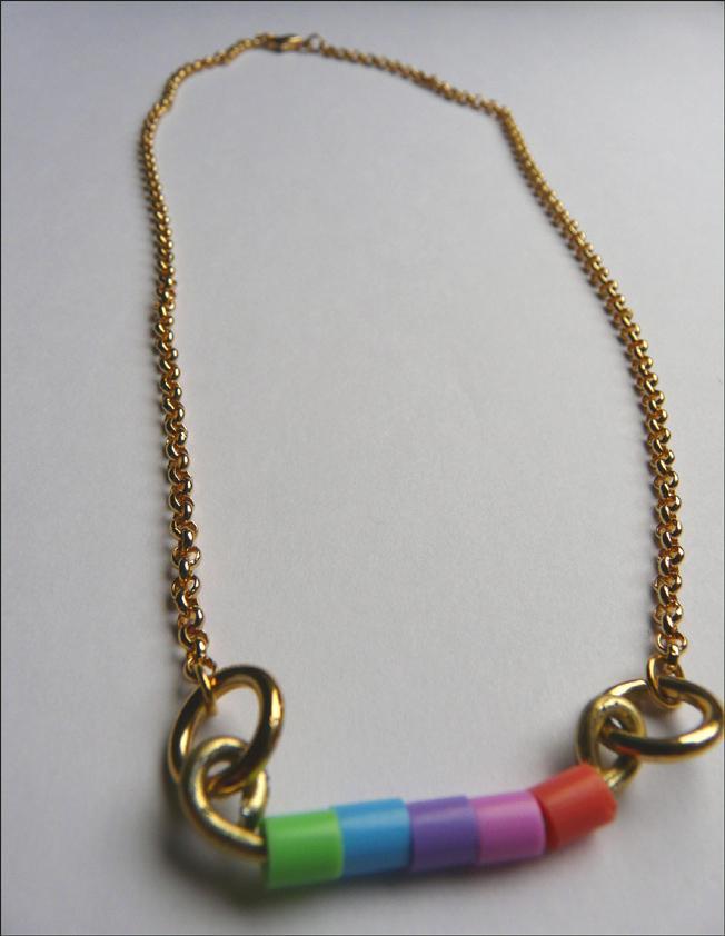 DIY : Un collier à perles HAMA