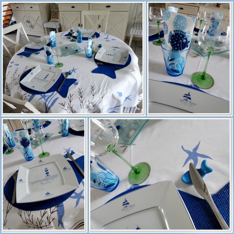 Nous recevons genevi ve et daniel 20 septembre 2012 voir - Decoration theme marin ...