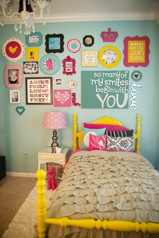 Chambre enfant : mur \