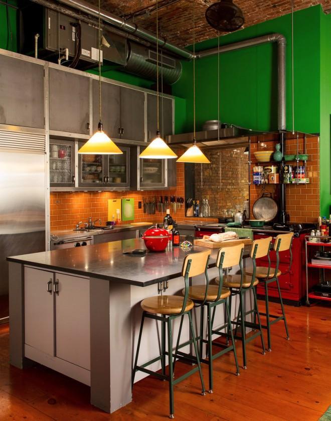 accumulation d objets dans un loft new yorkais paperblog. Black Bedroom Furniture Sets. Home Design Ideas
