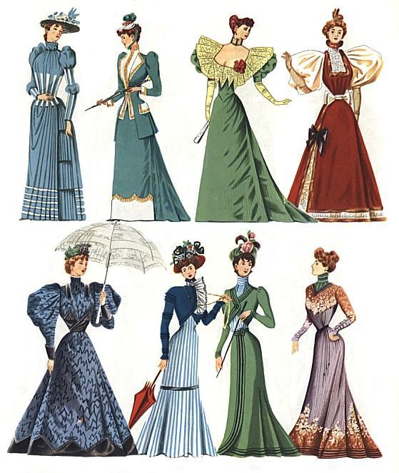 Mode,1890,1905,,,Costume,Cavalcade,,,H.H.Hansen