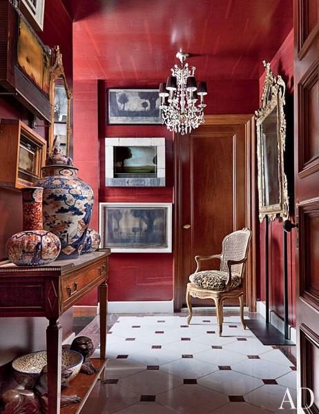 mur rouge paperblog. Black Bedroom Furniture Sets. Home Design Ideas