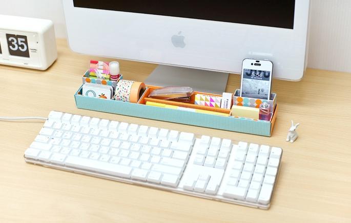 Des petits objets pour organiser son quotidien paperblog - Comment organiser son bureau ...