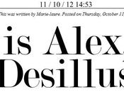 This Alex, Tome Desillusion Magazine