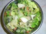 Salade pommes vertes graines citrouilles