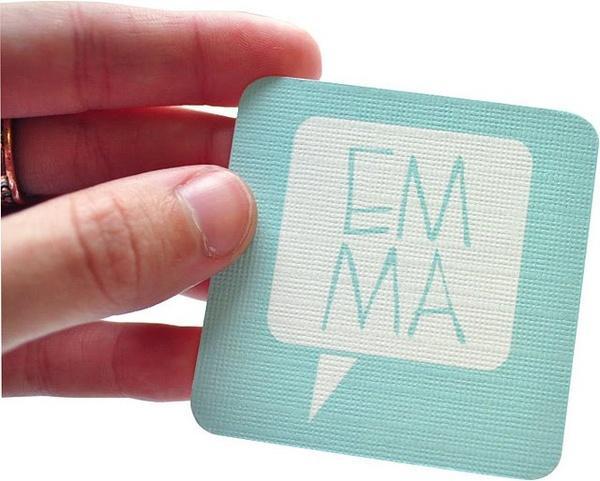 business card   impression typographique