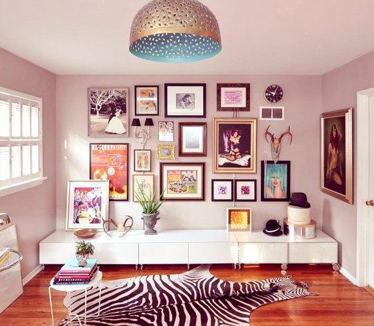 tapis zebre deco. Black Bedroom Furniture Sets. Home Design Ideas