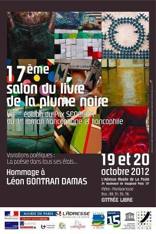 Le SALON DU LIVRE DE LA PLUME NOIRE 2012.