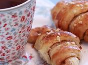Croissants briochés cannelle pour reveil douceur