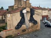 """""""Sauvetage"""", nouvelle fresque d'Escif, Niort Street"""