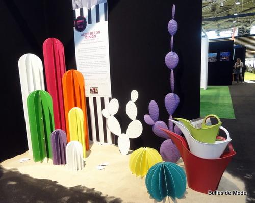 Salon Home Hommage aux Designers de Rhône-Alpes Cactus Acier Béton Design