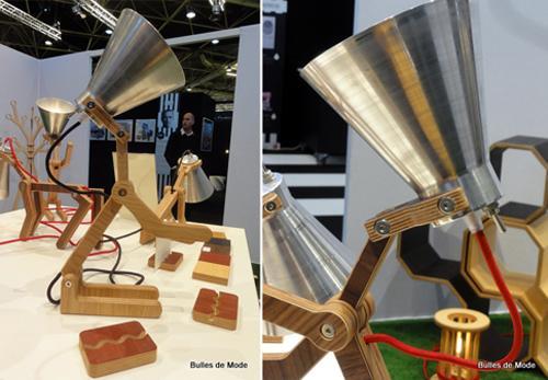 Salon Home Hommage aux Designers de Rhône-Alpes Lampe Waf Pierre Stadelmann Edito