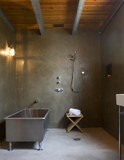 En mood boyfriend la salle de bain version industrielle d c - Salle de bain industrielle ...