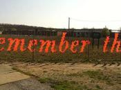 """""""Fences Project"""" Typographie clôture Lambchop, Michigan Street"""