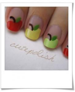 nail art gourmand