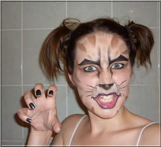 Maquillage chaton - Maquillage halloween chat ...