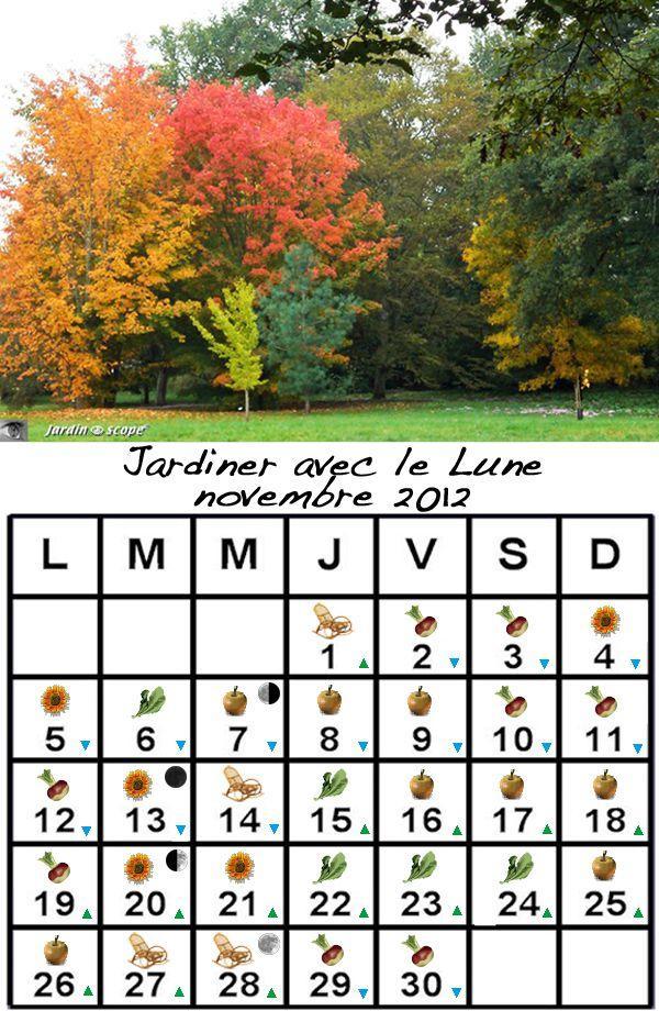 Jardiner avec la lune au mois de novembre 2012 voir - Jardiner avec la lune ...