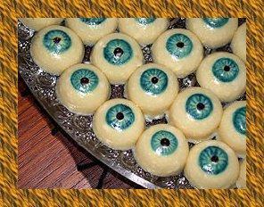 Halloween eyes d couvrir - Recette halloween horrible ...
