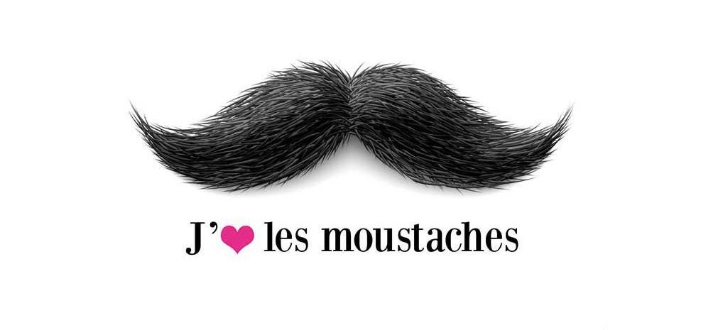 tableau moustache aristo pas cher