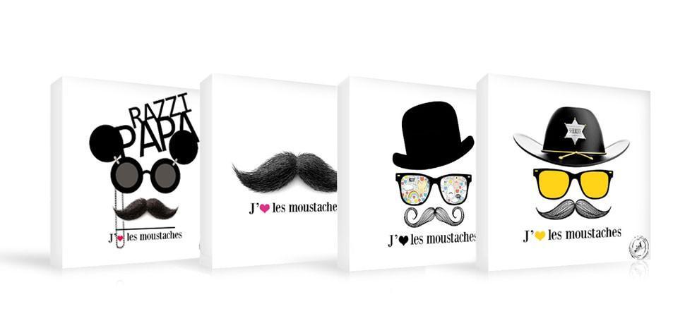 Vente priv e num ro 44 les tableaux moustache paperblog - Vente privee tableau ...