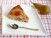 Gâteau lait ribot poires