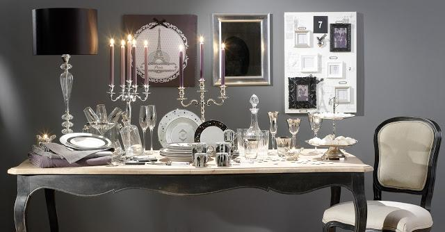 Table de no l premi res inspirations chic la parisienne paperblog - Deco table noel chic ...