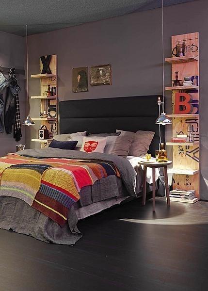 lampe de chevet au plafond paperblog. Black Bedroom Furniture Sets. Home Design Ideas