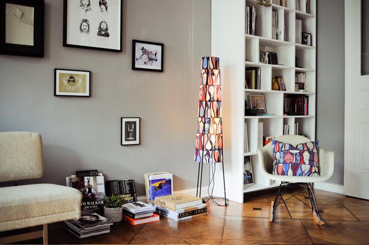 Un appartement vintage berlin paperblog - Appartement a berlin ...