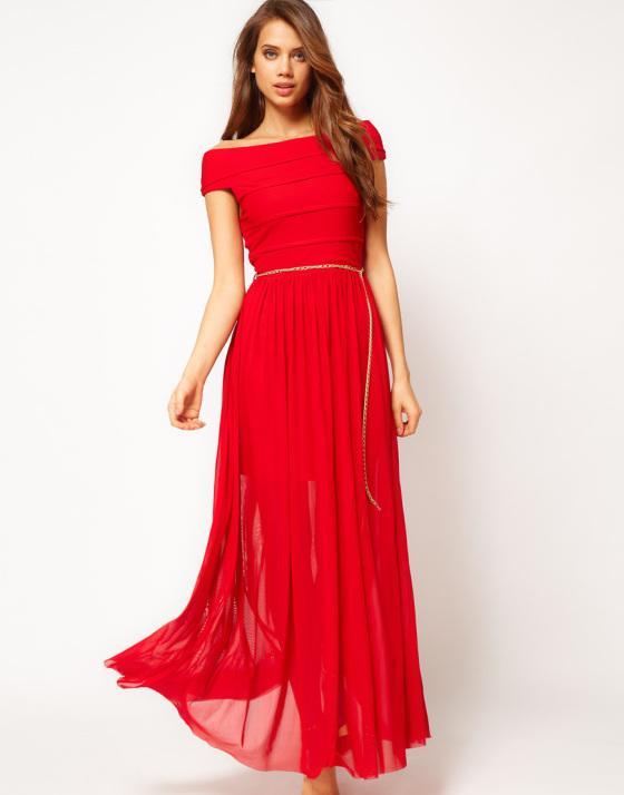 Robes asos pour un mariage d hiver paperblog for Robe rouge pour mariage