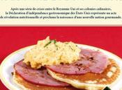 Histoire… bien manger. réassaisonnait grands moments l'Histoire 1776, PREMIER BREAKFAST AMERICA Pancakes, œufs brouillés fromage bacon grillé