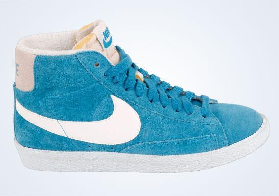 nike blazer bleu turquoise pas cher