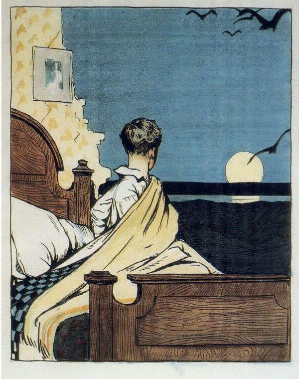Hopper 1906 Boy and Moon