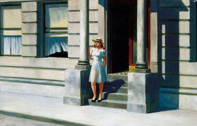 Hopper 1943 Summertime