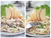 Salade Crue Pommes Céleri Rave Dressing Miso