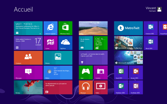 Les nouveaux raccourcis clavier de windows 8 lire for Raccourci clavier agrandir fenetre windows 7