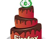 Mozilla Firefox fête