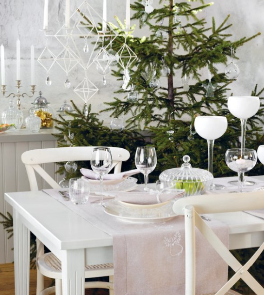 en mood d co de no l 1 la version scandinave paperblog. Black Bedroom Furniture Sets. Home Design Ideas