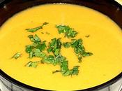 Soupe lentilles corail carottes