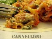 Cannelloni saumon épinards