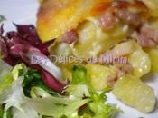 Tarticlette tartiflette fromage raclette