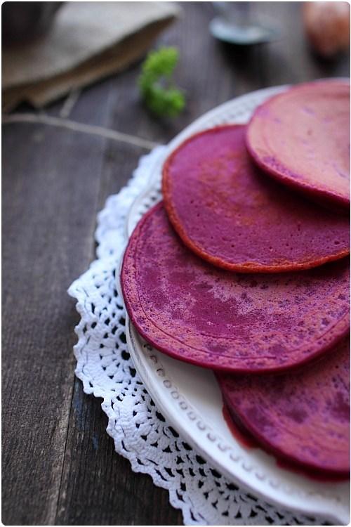 Pancakes à la betterave