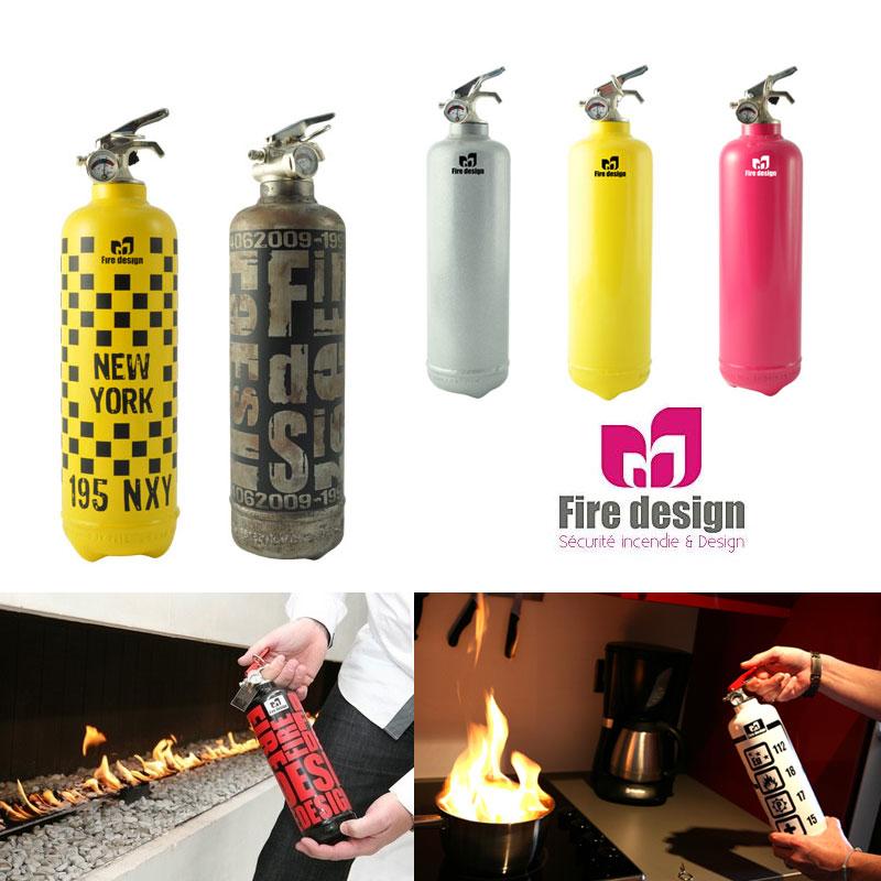 Les extincteurs design fire design en vente priv e - Vente privee enfance ...